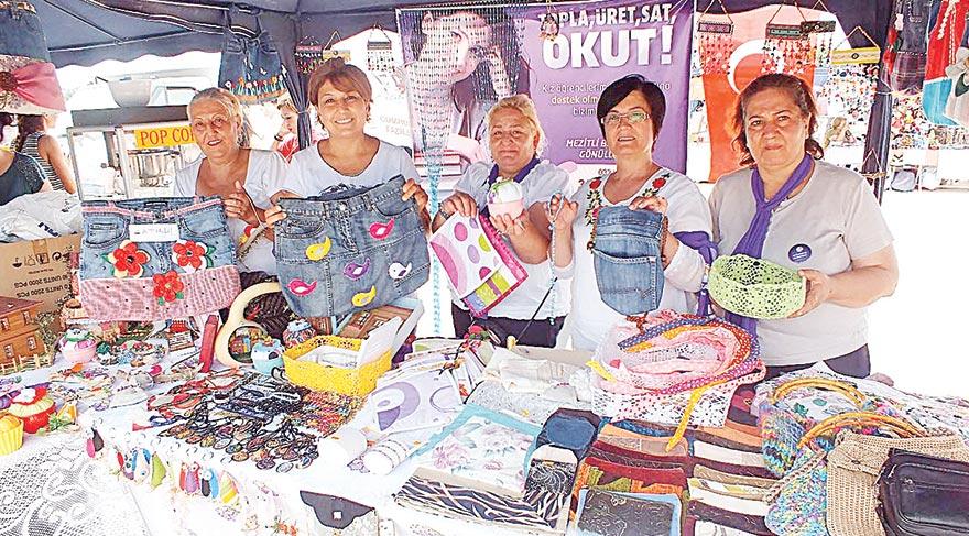 Kız çocuklarının eğitimine destek