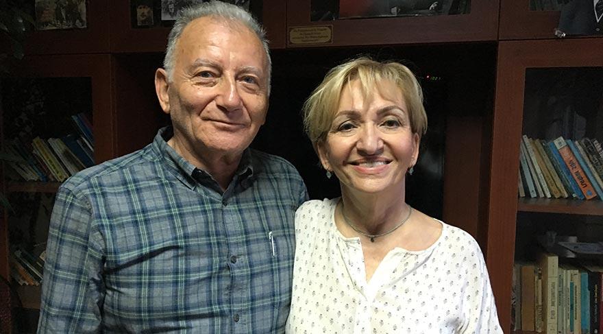 Şule Ceylan ve eşi Ömer Ceylan