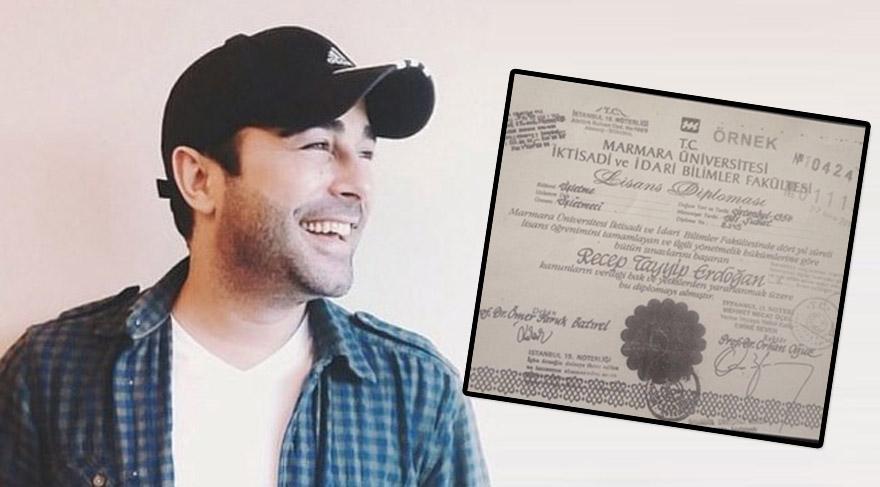 Atilla Taş'tan 'diploma' tweeti