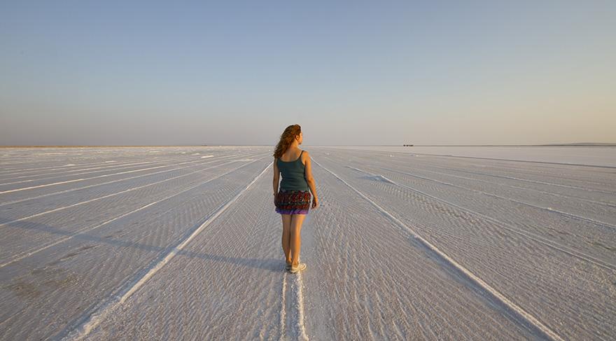 Tuz Gölü ayaklar için şifa kaynağı