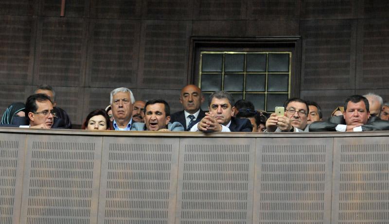FOTO:SÖZCÜ Yıldırım'ın konuşması sadece vekillerin değil, izleyicilerin de uykusunu getirdi.