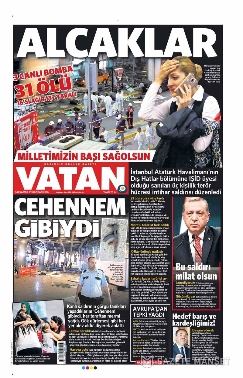 İşte Atatürk Havalimanı saldırısıyla ilgili tüm haberler 15