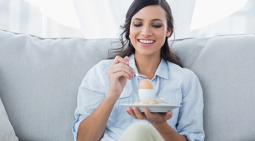 Sahurda yumurta yemek cilde iyi geliyor
