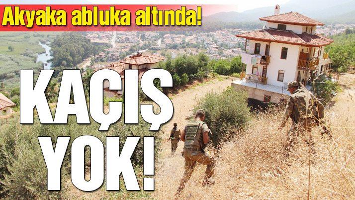 Akyaka abluka altında: Kaçış yok!