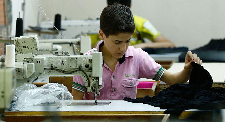 Suriyeli çocuk işçiler