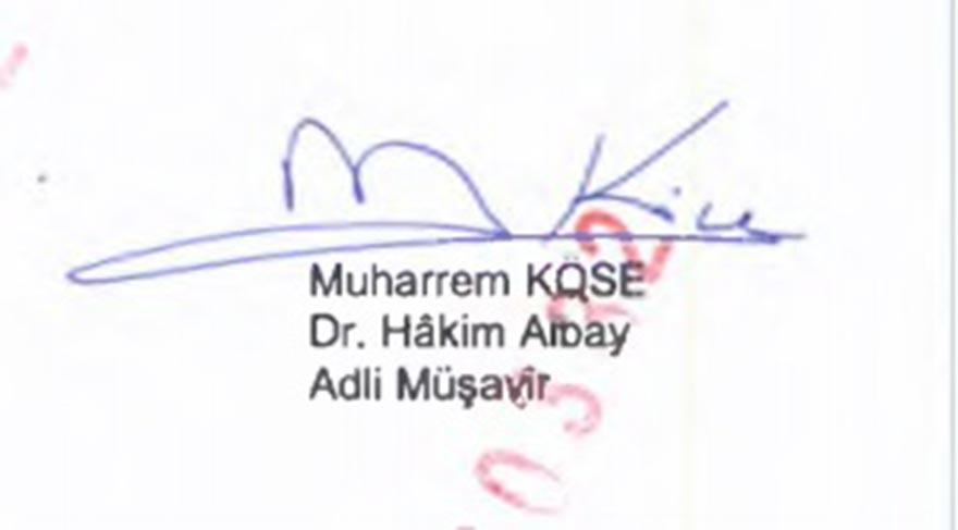 Muharrem Köse hem İstanbul hem de İzmir davalarında vardı.