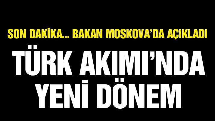 Son dakika Zeybekci: Türk akımı devam edecek