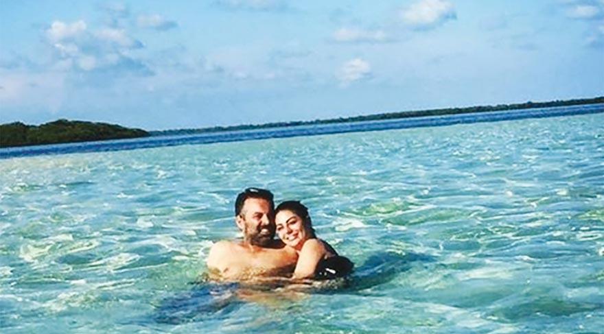 Yeni evli Süreyya Yalçın ve eşi Ozan Baran'ın adı Marmaris aşıklarına çıktı