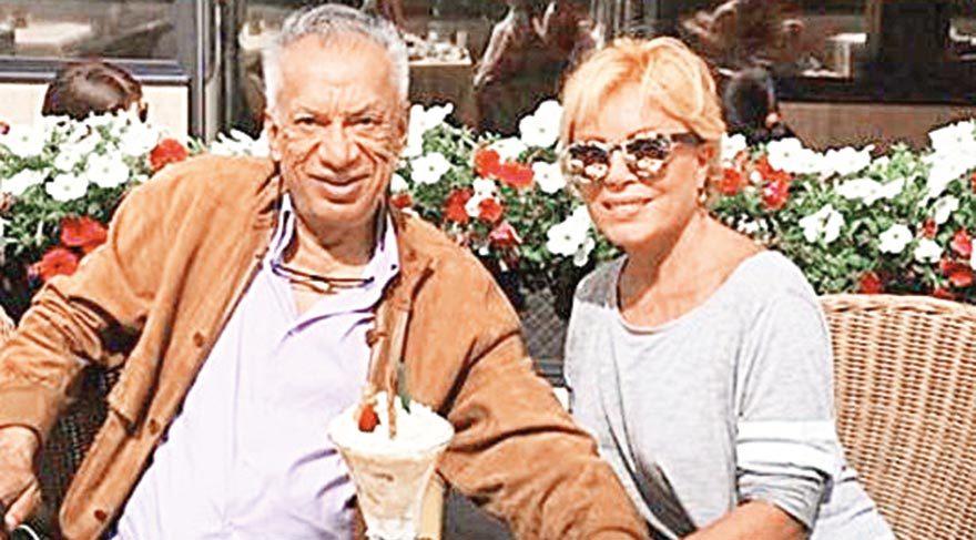 Semiramis Pekkan ve Hint asıllı İngiliz eşi Gulu Lalvani başbaşa