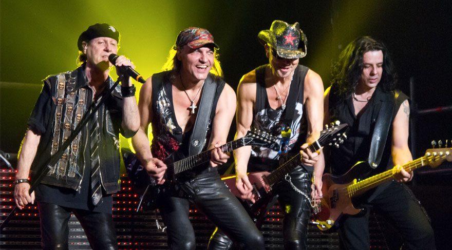 Scorpions 50'inci yılını, Maçka'da kutladı
