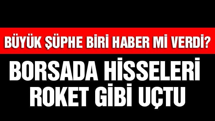 Galatasaray hisseleri roket gibi uçtu