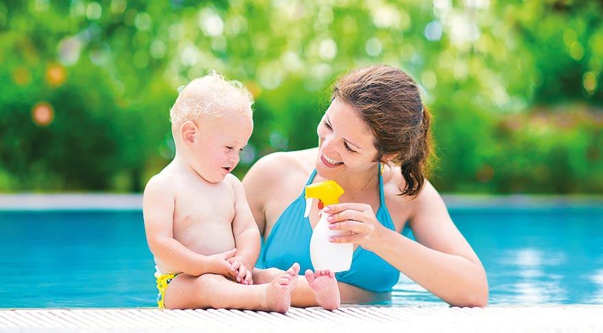 Bebeğiniz güneş alerjisi olabilir!