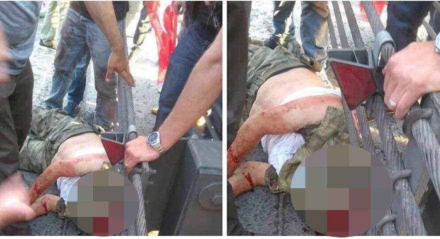 Boğaziçi Köprüsü'nde asker başı kesilerek öldürüldü