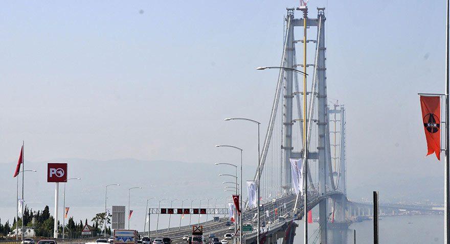 Araç tipine göre Osmangazi Köprüsü'nden geçiş fiyatları