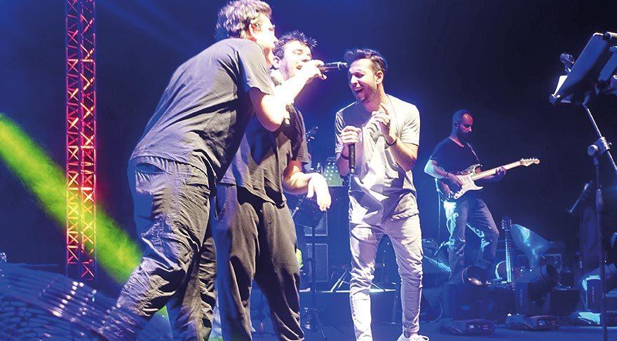 Kıbrıs'ta üçlü konser