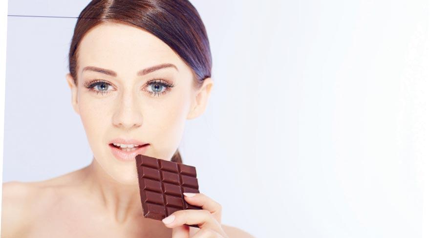 Bitter çikolata ile gençliğinizi koruyun