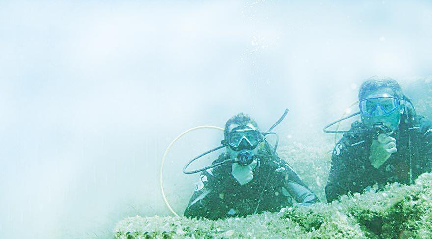 Cunda dalgıçları