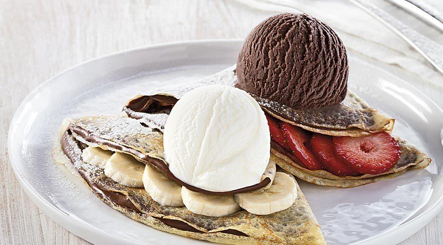 Sağlıklı bir atıştırmalık ve ara öğün için dondurma en iyisi…