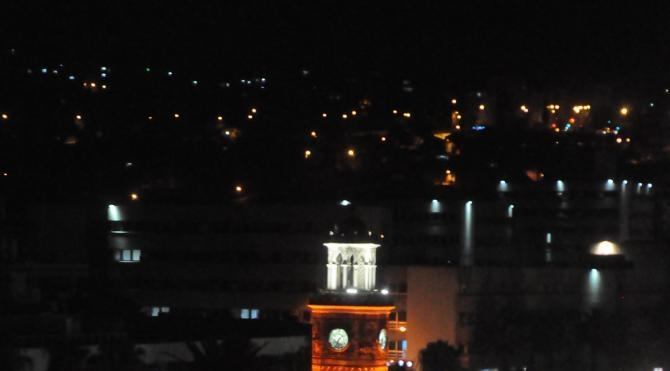 İZMİR'de AK Partililer, Konak Saat Kulesi'nde toplandı