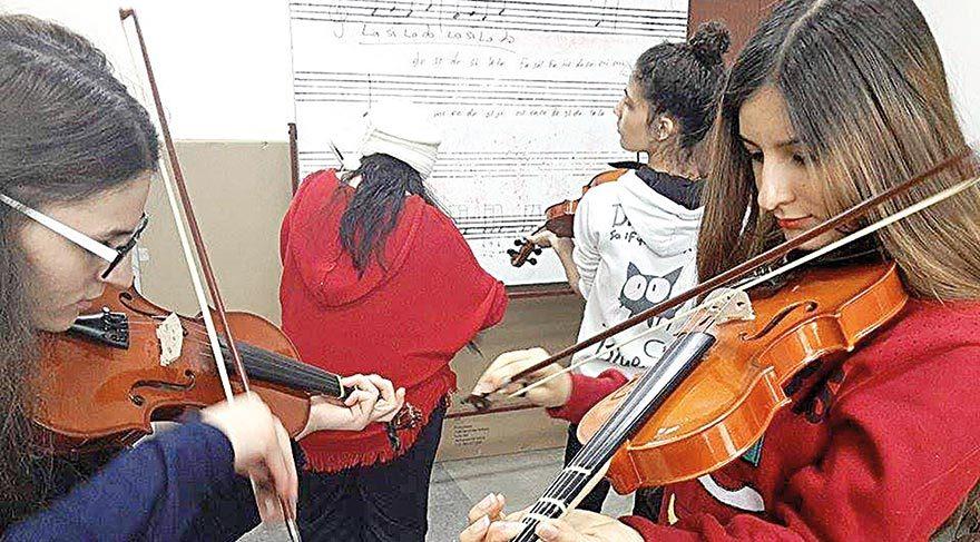 Müzisyenler şehri