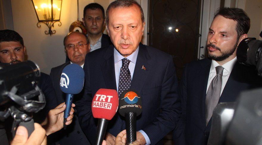 Erdoğan'dan ilk açıklama