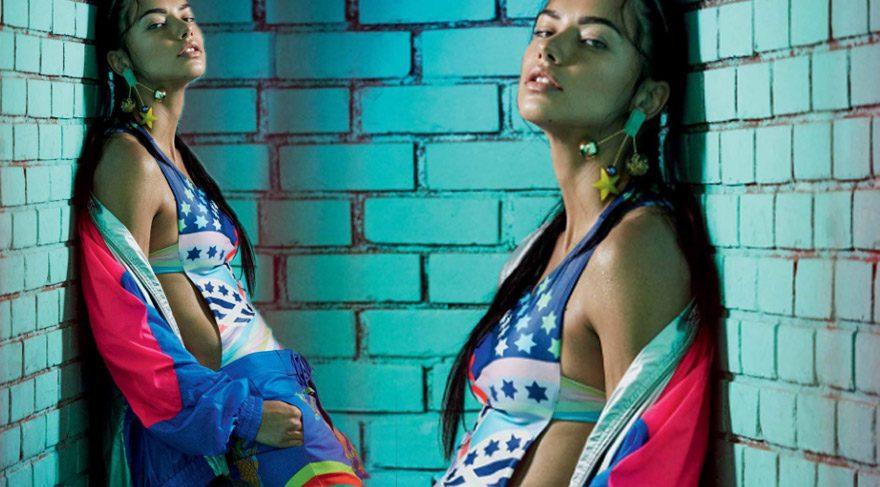 Adriana Lima'dan Vogue'a özel pozlar