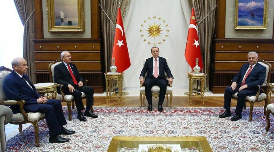 Erdoğan'dan muhalefet liderleri için flaş karar
