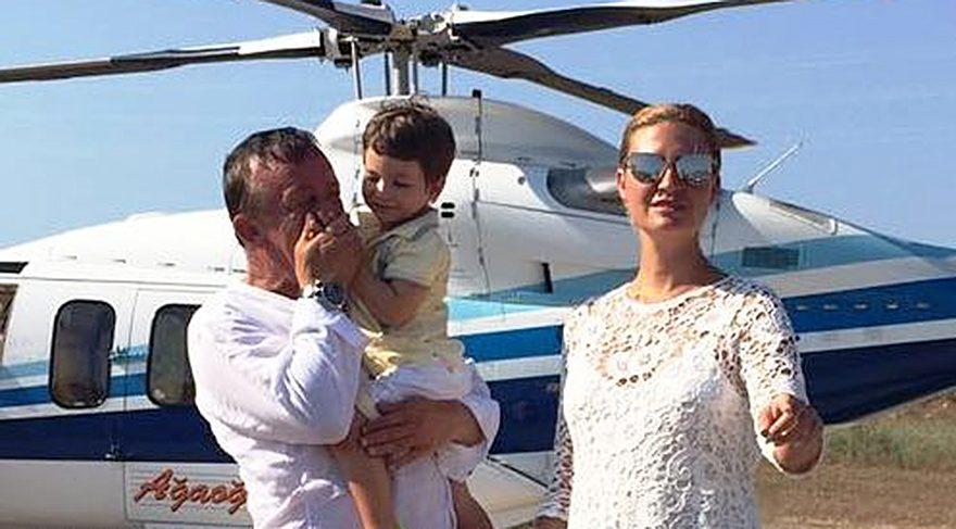 Ali Ağaoğlu yatırım yapacağı araziyi bir saat boyunca havadan inceledi