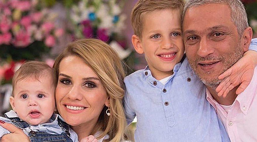 Ali Özbir eşi Esra Erol ve çocuklarıyla tatile çıktı