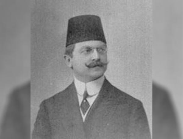 Osmanlı İmparatorluğu'nun son İçişleri Bakanı Ali Kemal Bey.