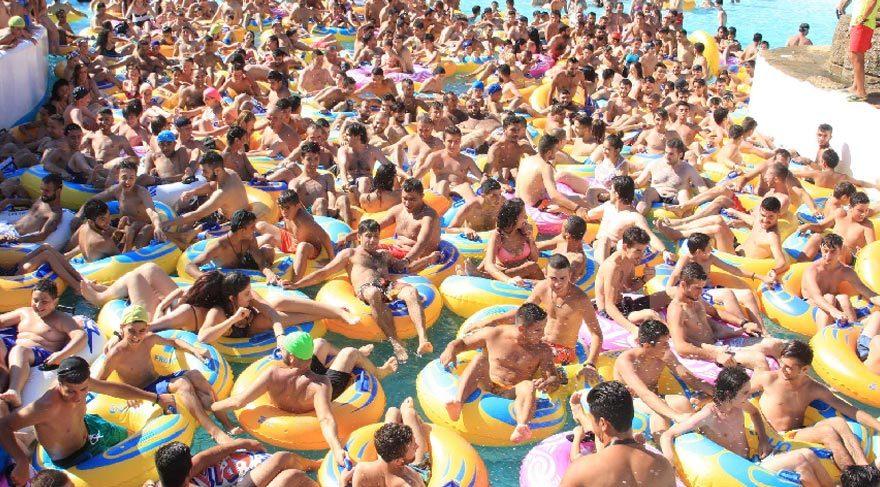 İzmir'de havuzlar doldu taştı