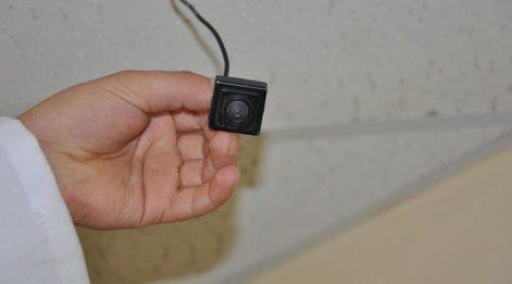 Hastanede yangın ikaz cihazlarına gizli kamera konulmasına 1 yıl 8 ay ceza
