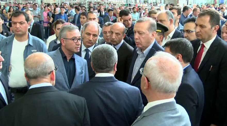 Cumhurbaşkanı Erdoğan, Atatürk Havalimanı'nda incelemelerde bulundu