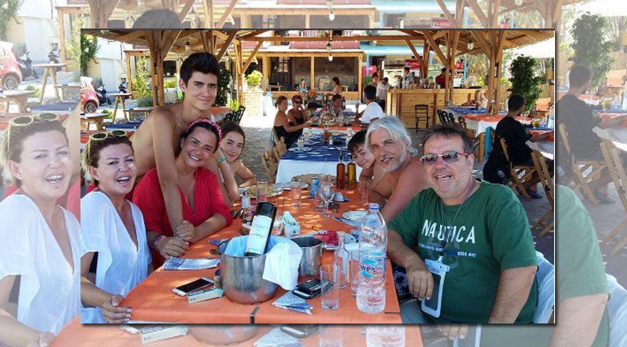 Gani Müjde ve Belma Canciğer dostlarıyla tatilde