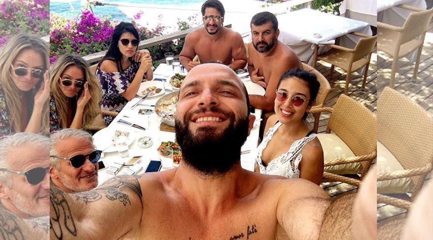 Berkay'ın mantı selfie'si