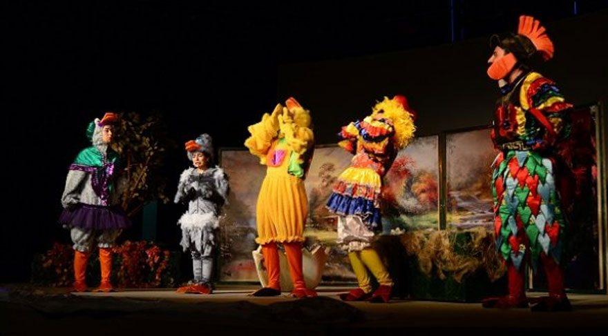 15. Çocuk Tiyatro Festivali başladı