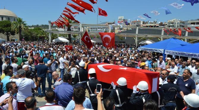 Şehit polis, Aydın'da toprağa verildi