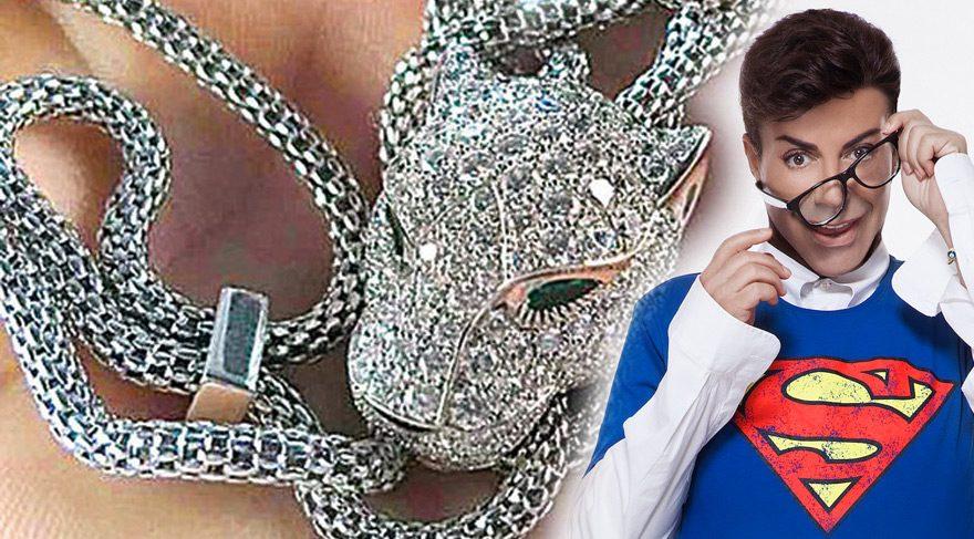 Fatih Ürek binlerce dolarlık mücevherleriyle göz kamaştırdı
