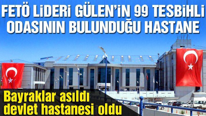 İşte FETÖ/PDY lideri Gülen'in hastanedeki 99'luk tespihli odası
