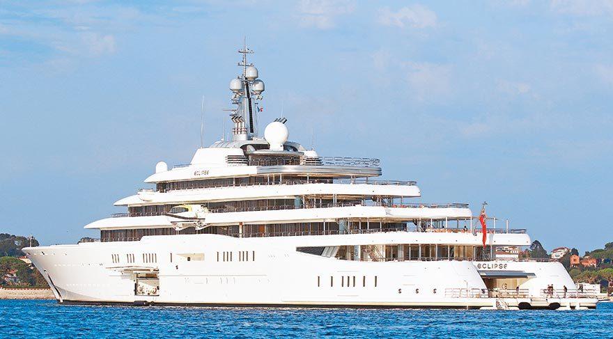 Roman Abramovich'in 1.5 milyar dolarlık yatı