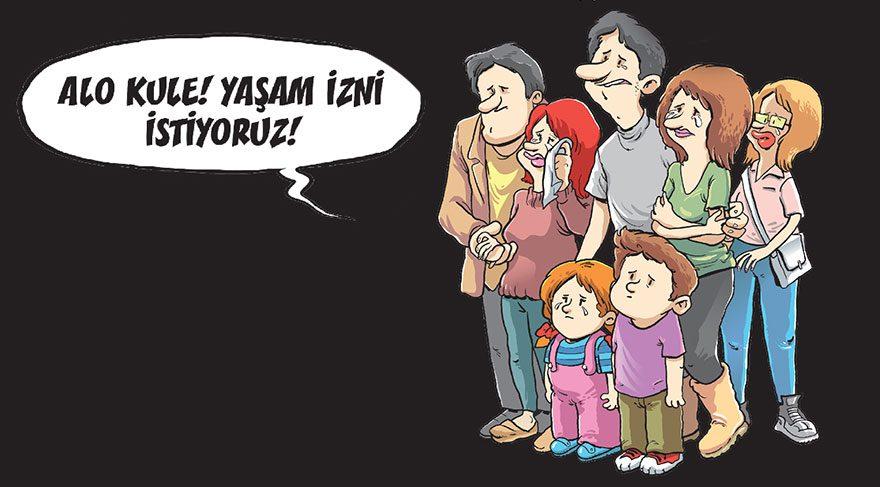 Atatürk Havalimanı saldırısı Gırgır kapağında