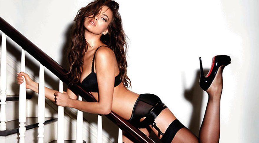 Irina Shayk'tan seksi paylaşım