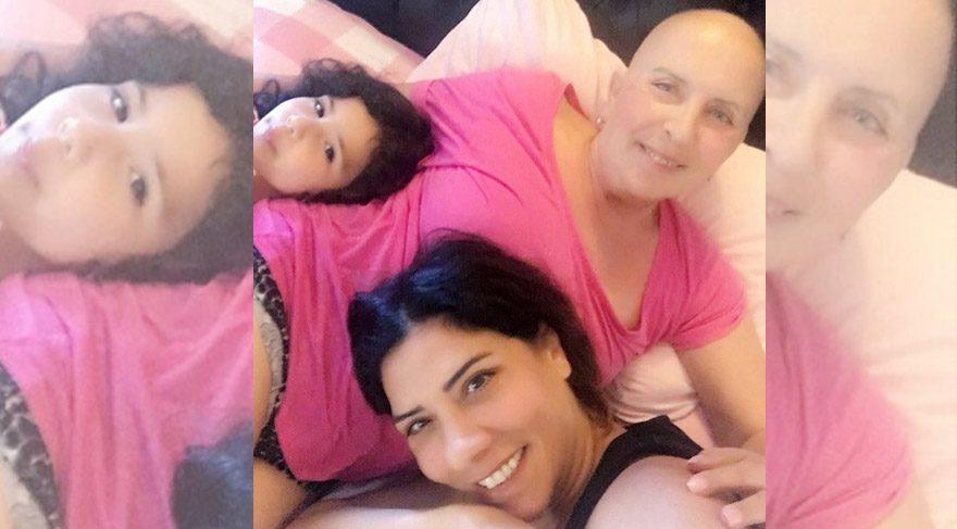 Işın Karaca'dan kanser tedavisi gören annesine büyük destek