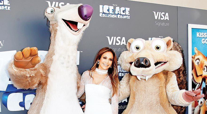 Jennifer Lopez çizgi film yıldızı
