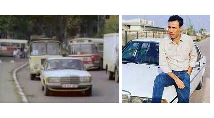 Kemal Sunal'ın Mercedes'i şimdi onda!