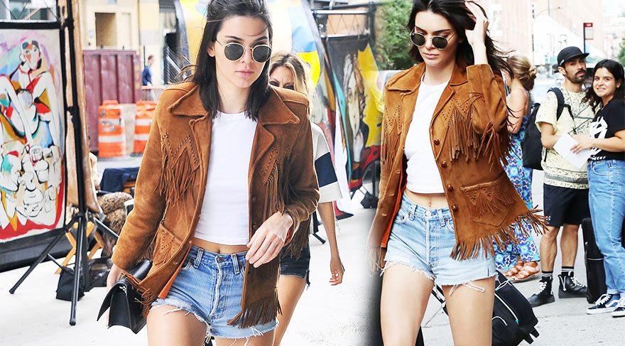 Kendall Jenner'ın 14 bin liralık stili