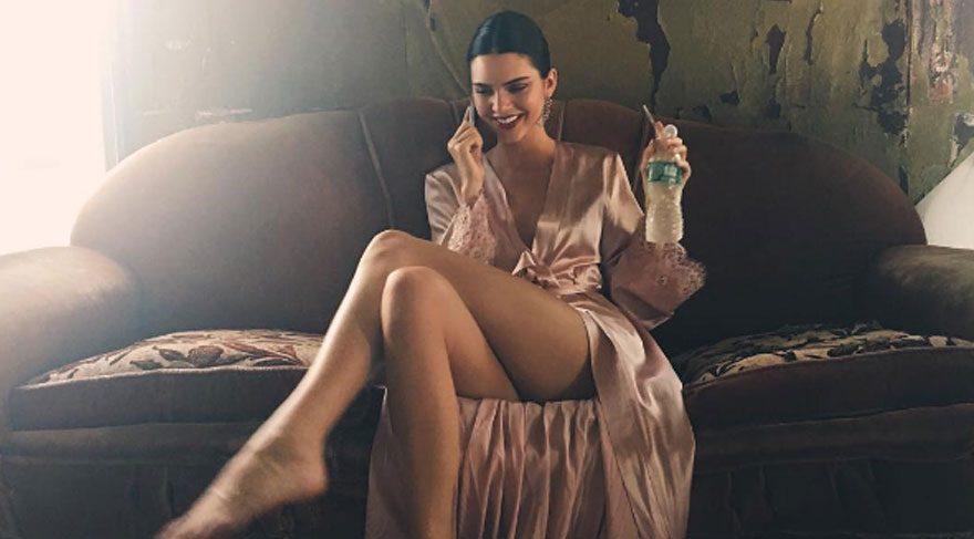 Kendall Jenner'in fotoğrafına beğeni yağdı