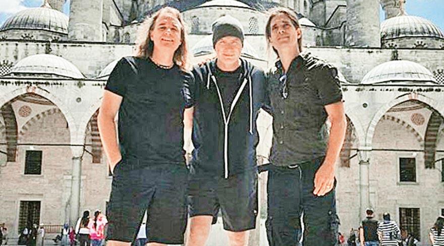 Megadeth, İstanbul'un tadını çıkardı