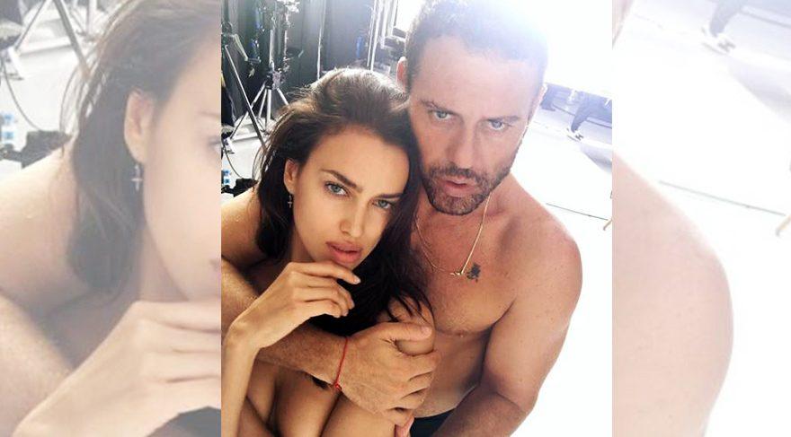 Irina Shayk ve Mert Alaş'tan çıplak poz