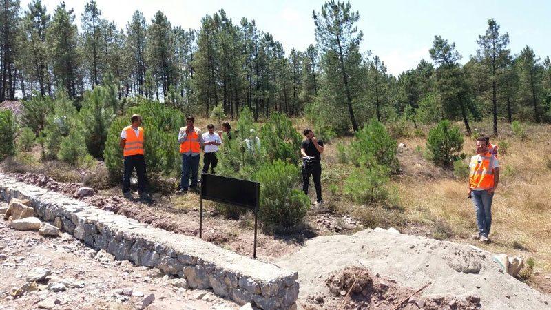 FOTO:SÖZCÜ/ Turgut Erat - Mezarlıktaki çalışmalar sürüyor.